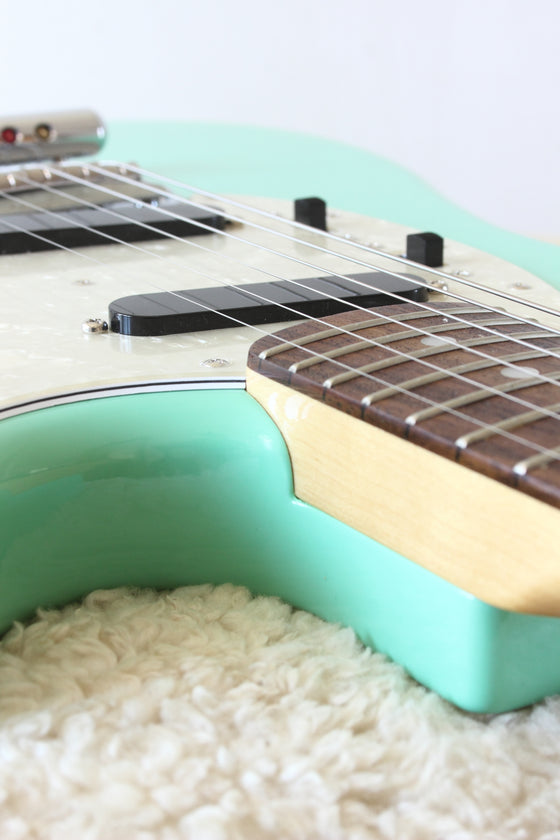 Fender Japan Traditional Series 60s Mustang Surf Green 2017