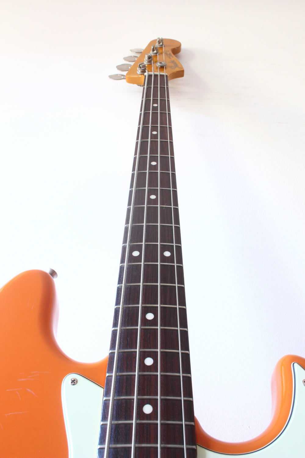 Fender Japan '62 Reissue Jazz Bass JB62-58 Capri Orange 1997-00