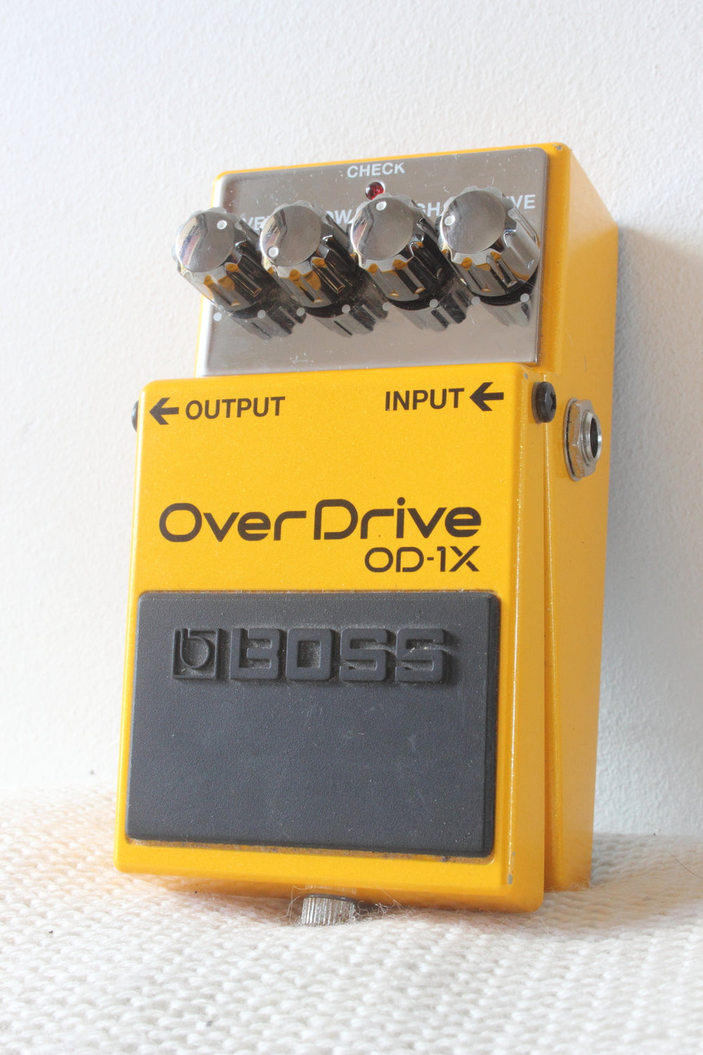 Used Boss OD-1X Overdrive Pedal