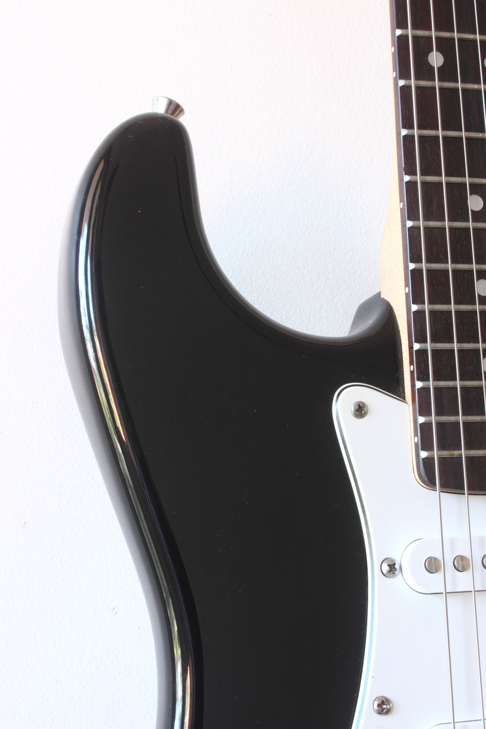 Squier Affinity Series Strat Modded Black 2005