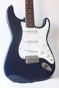 Squier Affinity Series Strat Modded Navy Blue 2011