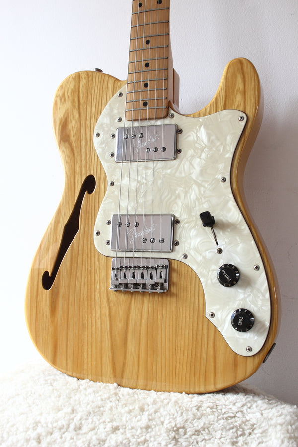Fender Japan '72 Reissue Thinline Telecaster TN72-75 Natural 1989-90