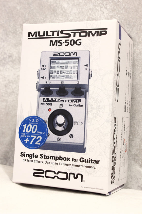 Zoom MS-50G Multistomp Pedal