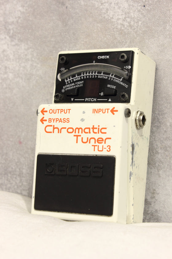 Boss TU-3 Chromatic Tuner Pedal 2011