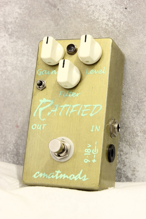 CMATmods The Ratified Distortion Pedal