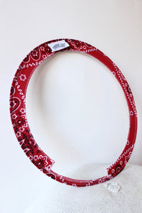 "RootsEQ Roots Ring For Snare 14"" Red Bandana"