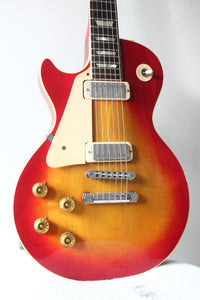 Gibson Left-Handed Les Paul Deluxe Cherry Sunburst 1979