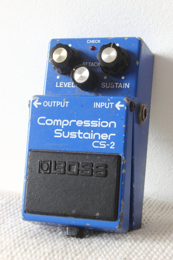 Boss CS-2 Compressor Sustainer Pedal MIJ 1983