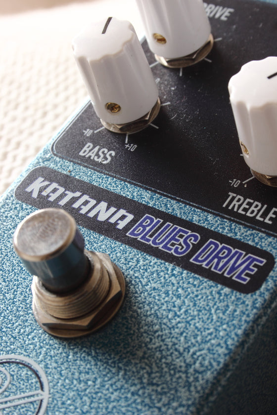 Keeley Katana Blues Drive Pedal