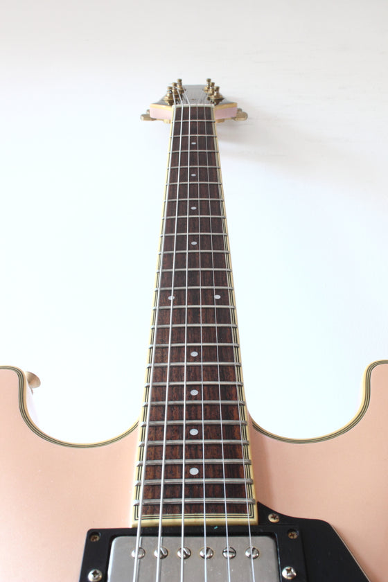 Aria Pro II TA-55 Hollow Body Pearl Pink 1989
