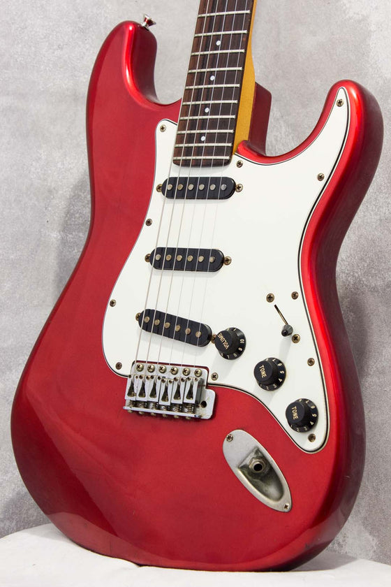 Squier Japan Contemporary Series Stratocaster ST551 Candy Apple Red SQ Serial 1983