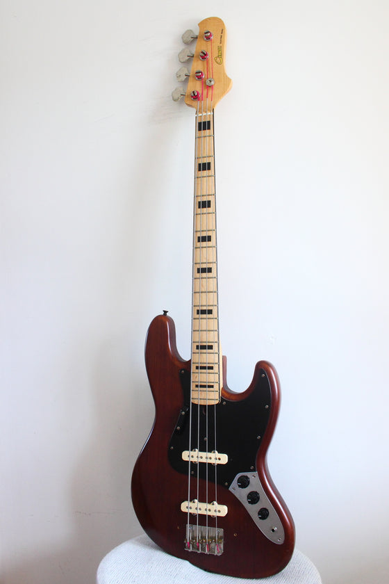 Cimar Jazz Bass Natural Mahogany 1982