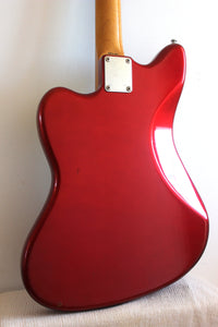 Used Fender Jazzmaster '66 Reissue Candy Apple Red