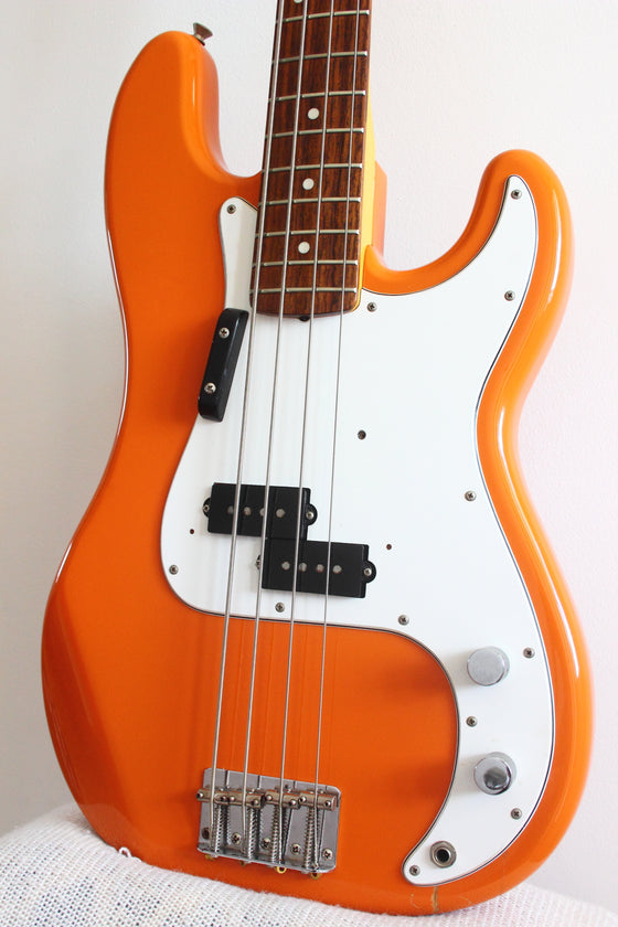 Fender '70 Reissue Precision Bass Capri Orange 1997-00