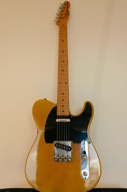 Used Fender Telecaster '72 Reissue Butterscotch 1987