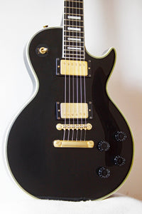 Greco EGC68-60 Mint Collection LP Custom Style Ebony 1989
