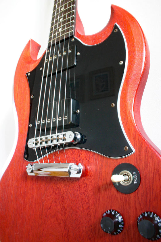 Used Gibson SG Special Faded Worn Cherry
