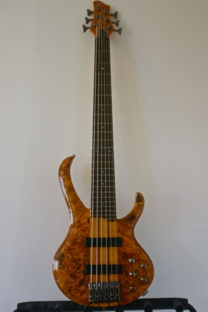 Used Ibanez BTB776PB 6-String Bass Guitar