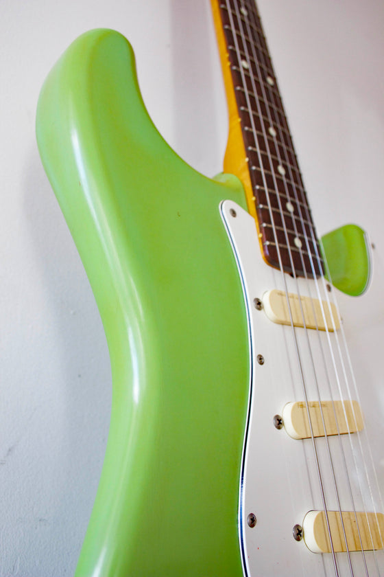 Fender '62 Reissue Stratocaster ST62-770LS Faded Surf Green 1989
