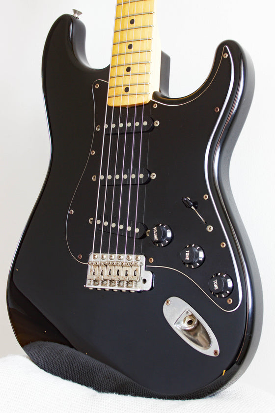 Squier MIJ Silver Series Stratocaster Black SST33 1993/94