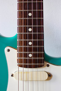 Fender Strat Plus Bahama Green 1987