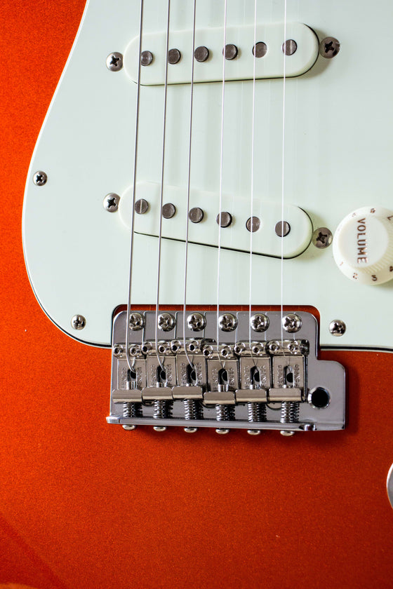 Fender Made in Japan Traditional 60s Stratocaster Candy Tangerine 2017