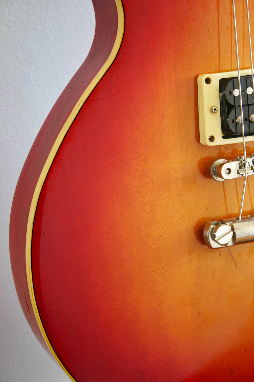 Used Yamaha Studio Lord SL500 Red Sunburst 1978
