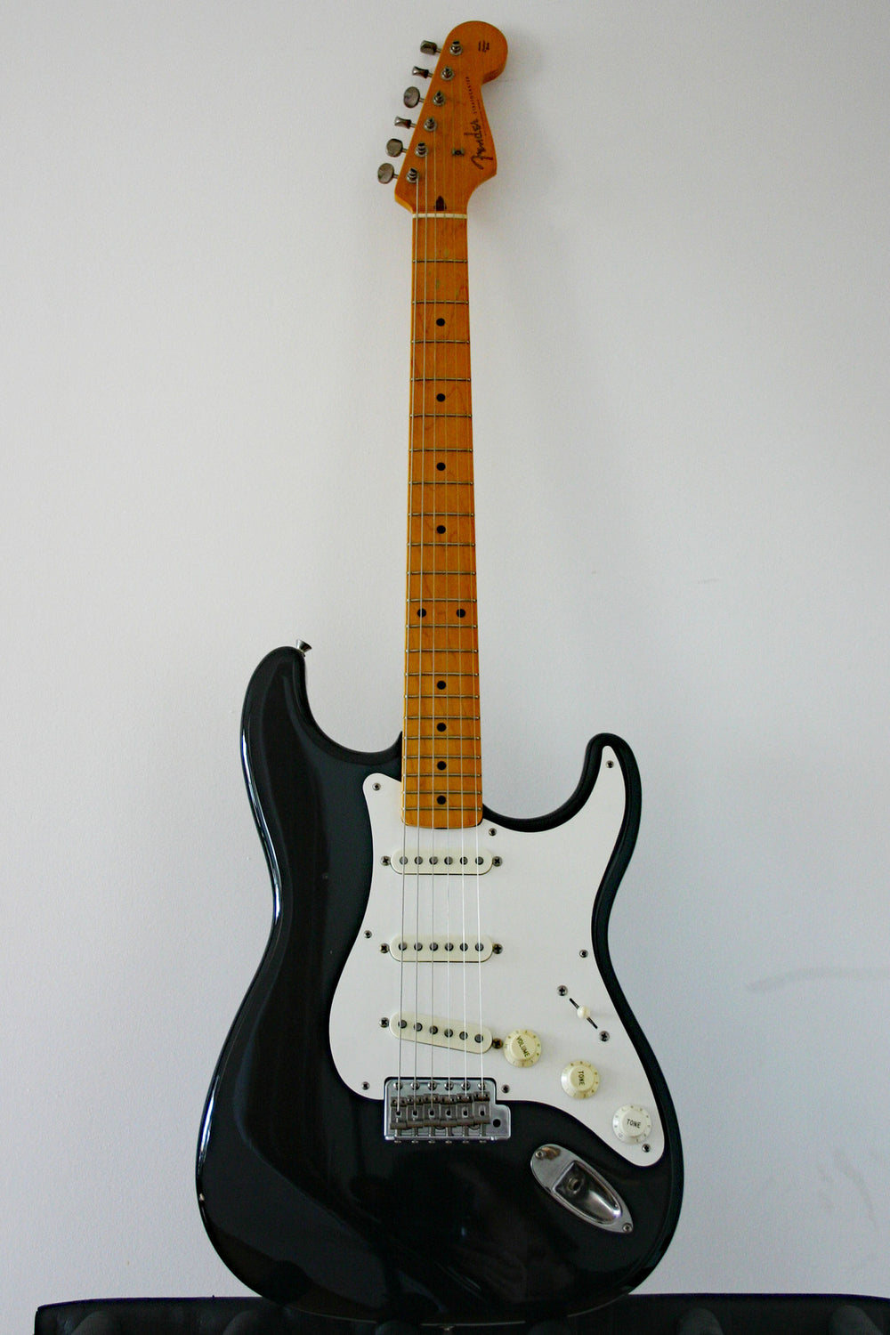 Used Fender Stratocaster '57 Reissue Black 1990