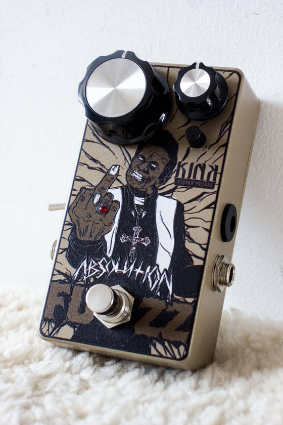Kink Guitar Pedals Absolution Fuzz Pedal