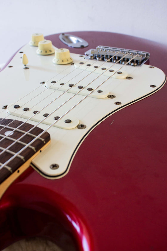 Fender Japan '71 Stratocaster ST71-85TX Candy Apple Red 2000