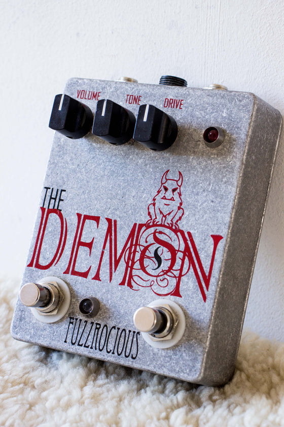 Fuzzrocious Pedals The Demon Overdrive w/ Gate Boost Mod Pedal