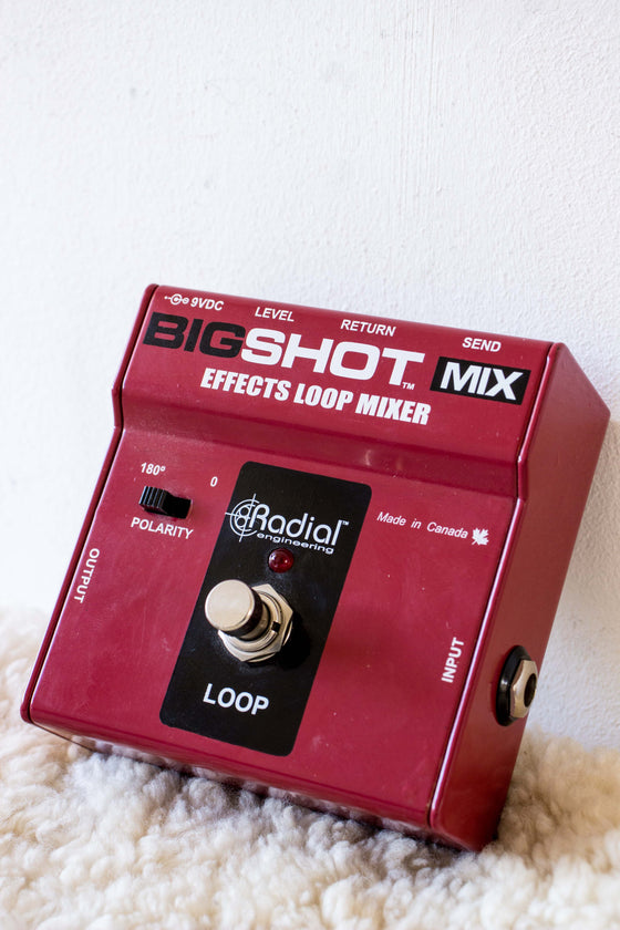 Radial Tonebone Big Shot FX Loop Mixer Pedal