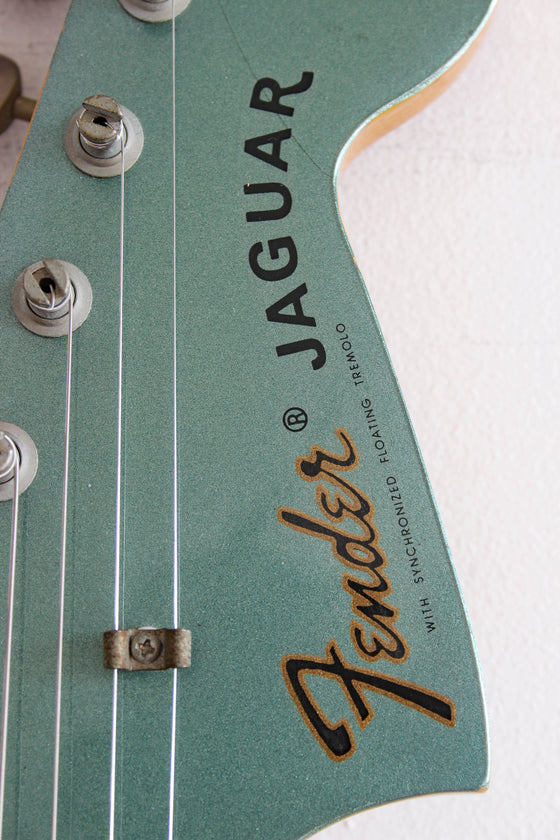 Used Fender Jaguar '66 Reissue Faded Ice Blue