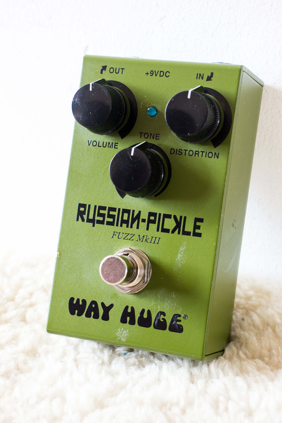 Way Huge Russian Pickle MkIII Fuzz Pedal