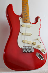 Used Fender Lace-Sensor Stratocaster Fiesta Red 1990