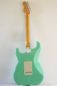 Used Fender Stratocaster '62 Reissue Surf Green 2016