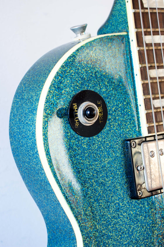 Epiphone Custom Shop Les Paul Standard Blue Sparkle 2009