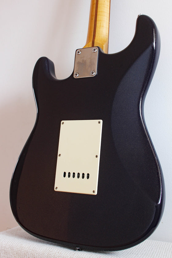 Used Squier Stratocaster HSS California Series Black Sparkle
