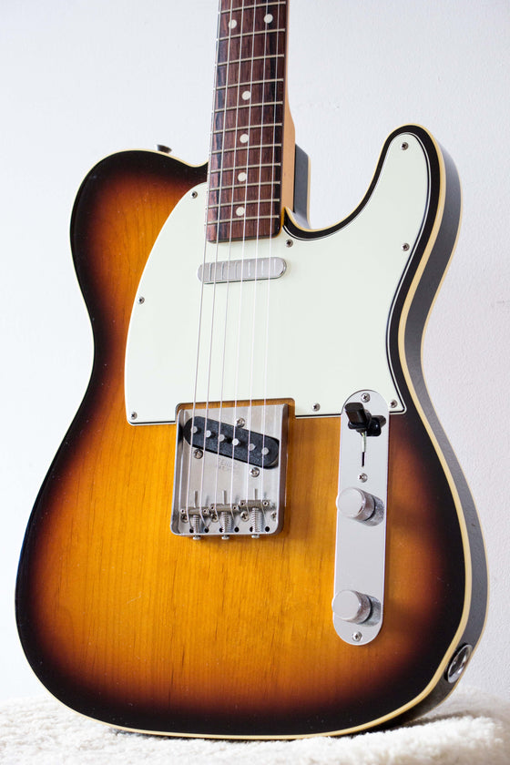 Fender Japan '62 Telecaster TL62B-VSP/MR Bound Sunburst 2014