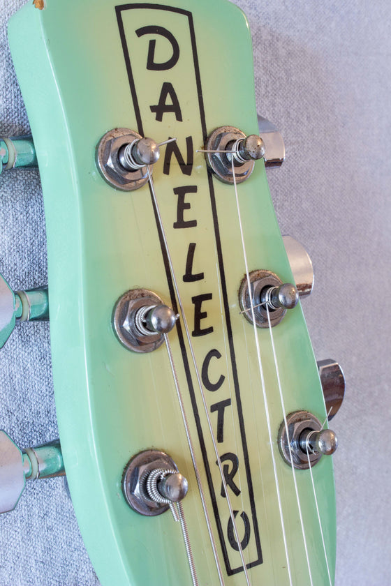 Danelectro 56 U2 Surf Green Burst 1998