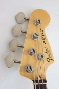 Fender Japan '75 Reissue Jazz Bass JB75-90US Vintage White