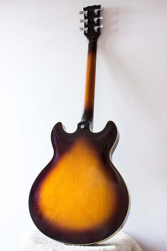 Yamaha SA1200S Semi Hollow Brown Sunburst 1979