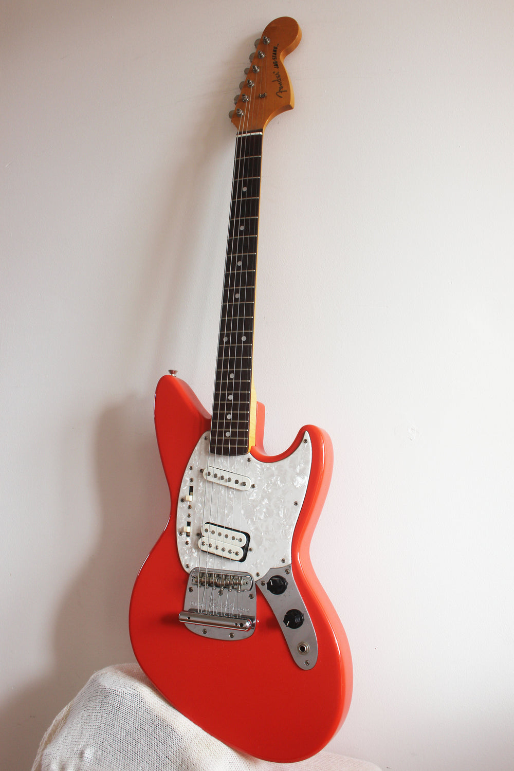 Used Fender Jag-Stang Fiesta Red