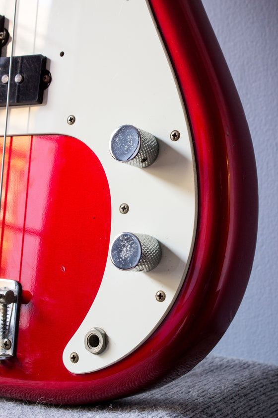 Fender Japan '57 Precision Bass PB57-53 Candy Apple Red 1993