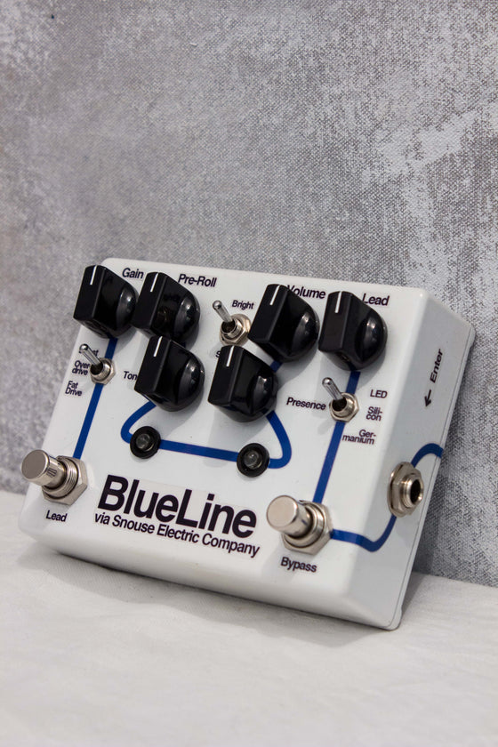 Snouse Electric Company Blueline Professional Overdrive Pedal