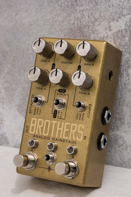 Chase Bliss Brothers Analog Gainstage Pedal