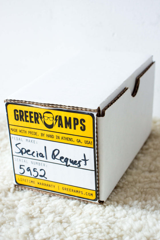 Greer Amps Special Request Preamp Pedal