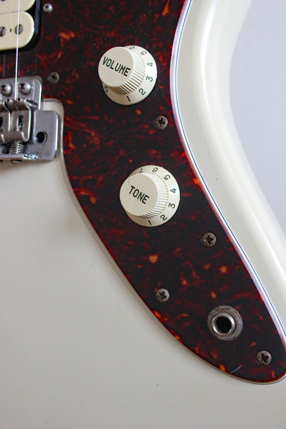 Used Squier MIJ Jagmaster HH 1997 Vintage White