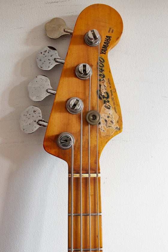 Used Yamaha PB400 Pulser Bass Natural 1980