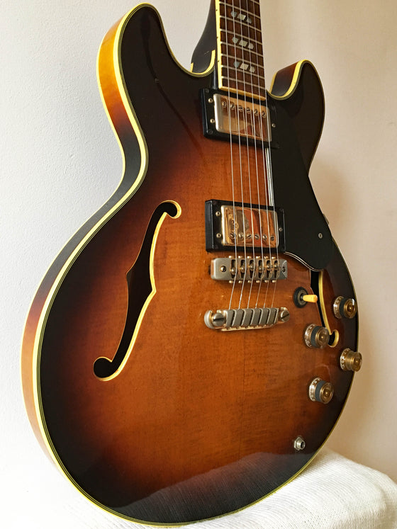 Used Greco Super View SV-800 Semi-Hollow Guitar